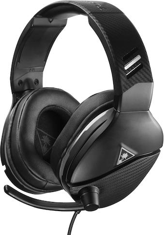 Turtle Beach Gaming-Headset »Recon 200«, Mikrofondesign: Fixiertes, durch Hochklappen stummschaltbares Kugelmikrofon, 40-mm-Lautsprecher kaufen