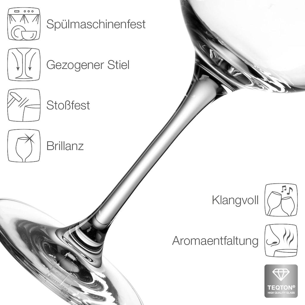 LEONARDO Weißweinglas »Tivoli«, (Set, 6 tlg.), 6-teilig