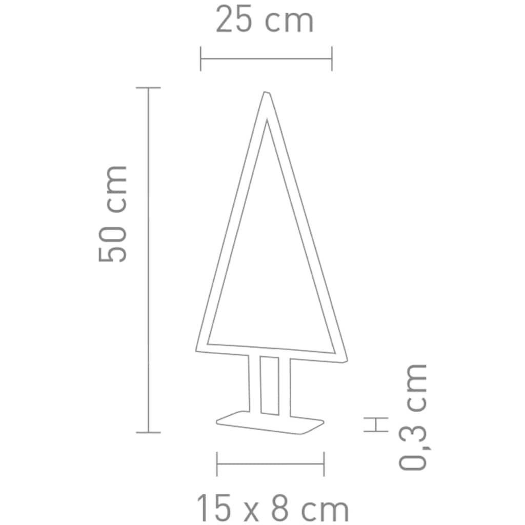 SOMPEX LED Baum »Pine«, Warmweiß, Höhe 50 cm, Dimmer in der Zuleitung