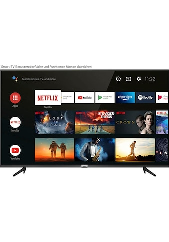 "TCL LED-Fernseher »55P616X1«, 139 cm/55 "", 4K Ultra HD, Smart-TV, Android 9.0 Betriebssystem kaufen"