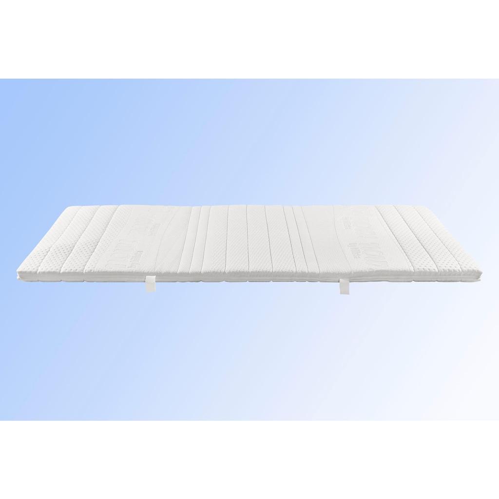 now! by hülsta Matratzenauflage, mit Comfortklima-Kern und Rundumreißverschluss