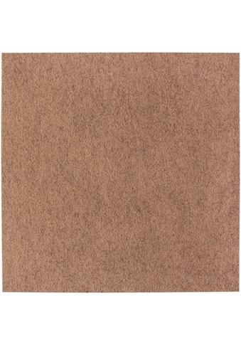 Andiamo Teppichfliese »Skandi Nadelfilz«, rechteckig, 4 mm Höhe, 25 Stück (4 m²), selbstklebend, für Stuhlrollen geeignet kaufen