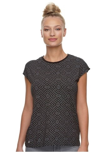 Ragwear Plus Print-Shirt »DIONE PRINT PLUS«, mit effektvollem Allover-Print kaufen