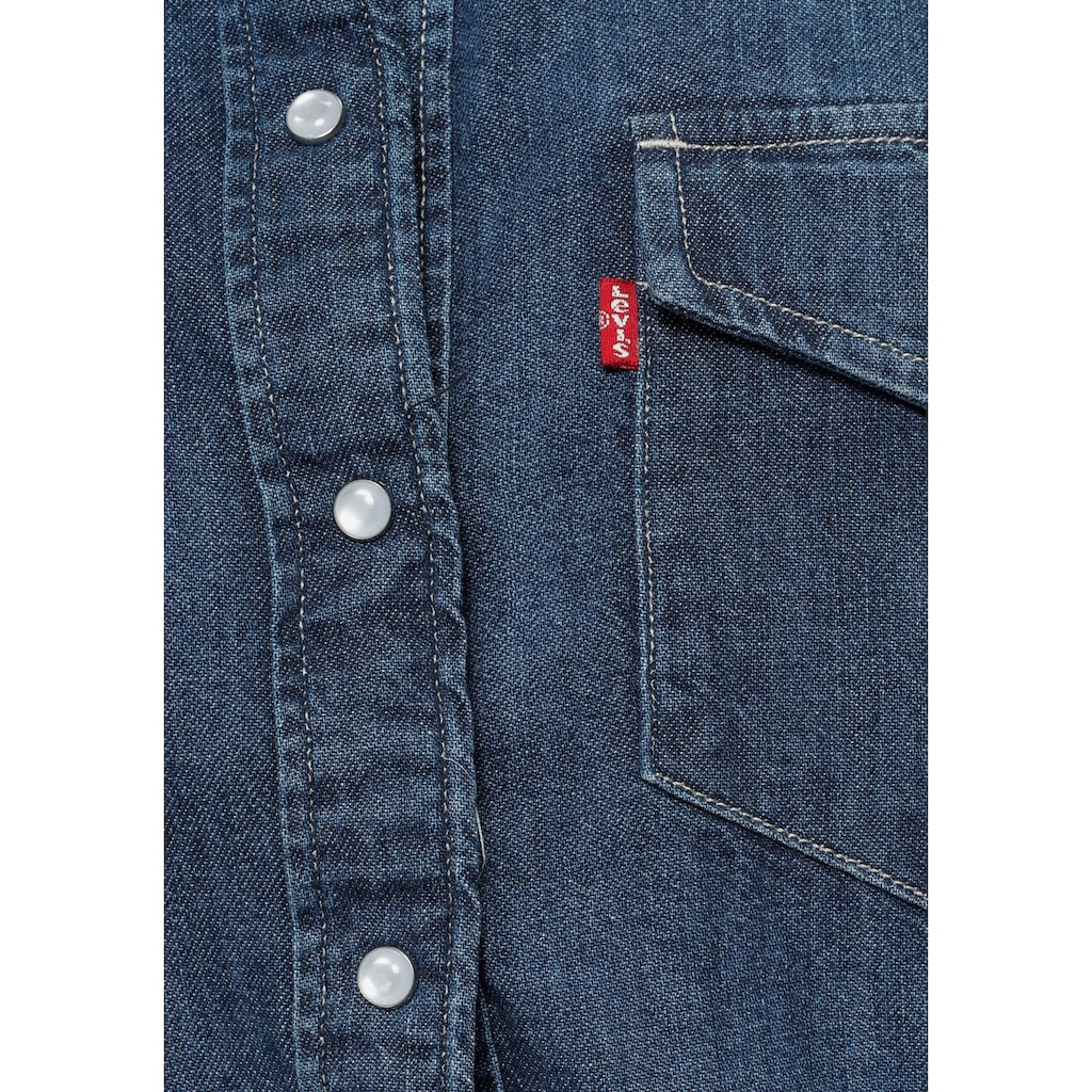 Levi's® Jeansbluse »ESSENTIAL WESTERN«, mit Brusttaschen mit Druckknöpfen