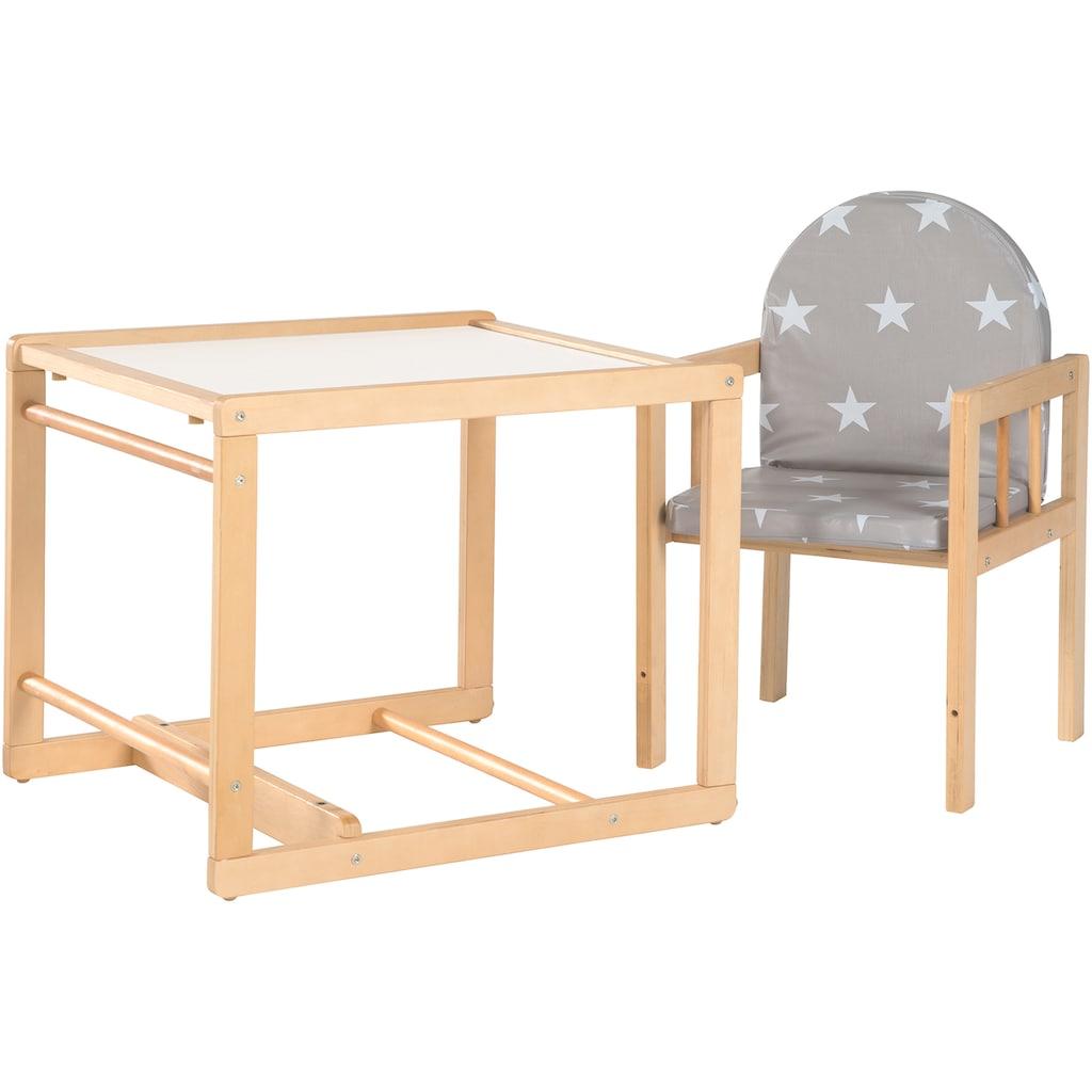 roba® Kombihochstuhl »Little Stars«, zur Kindersitzgarnitur umbaubar