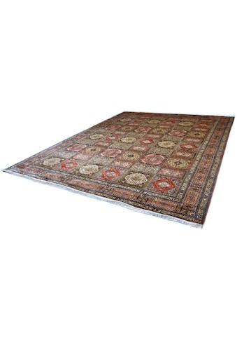 Seidenteppich, »Boxes 999«, Kayoom, rechteckig, Höhe 10 mm, manuell geknüpft kaufen