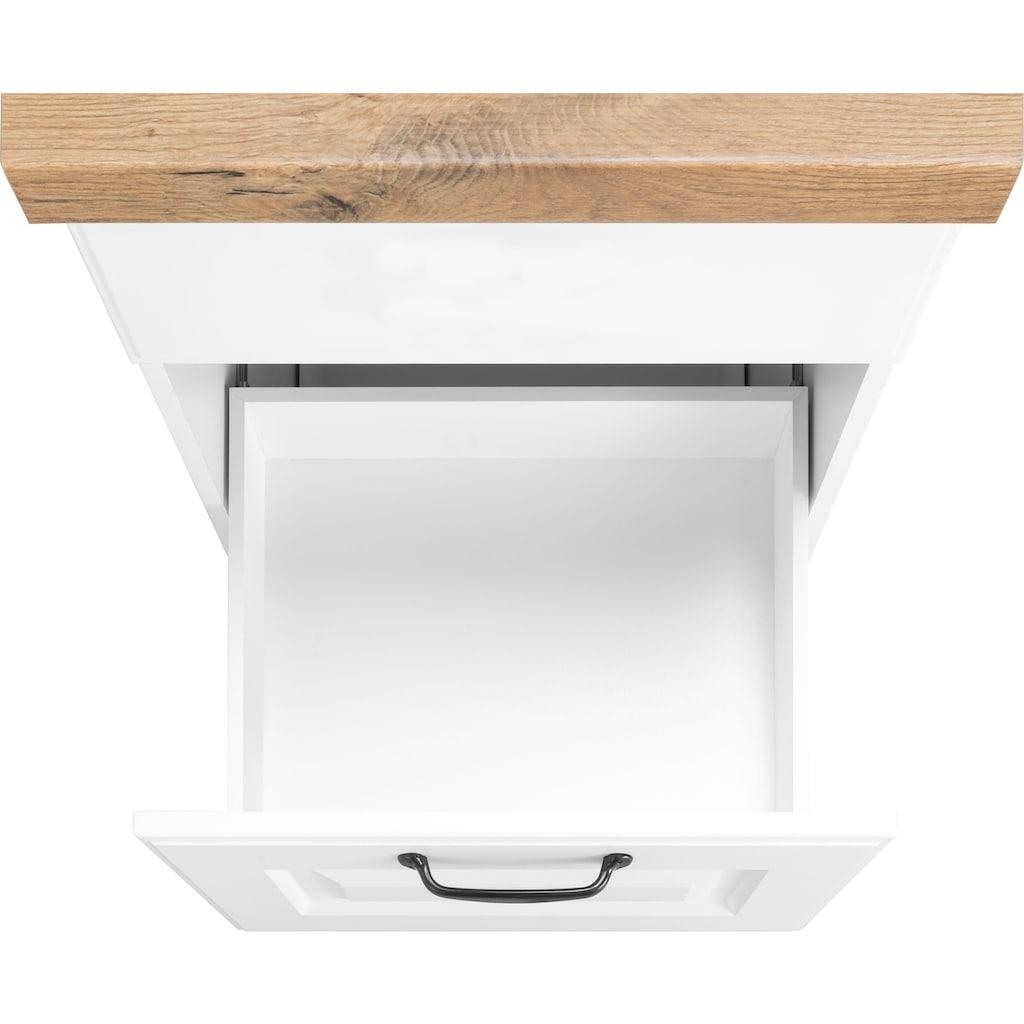 wiho Küchen Kochfeldumbauschrank »Erla«, 60 cm breit mit Kassettenfront
