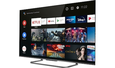 "TCL LED-Fernseher »50P816X1«, 127 cm/50 "", 4K Ultra HD, Smart-TV, Smart-TV kaufen"