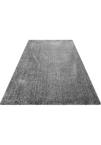 Hochflor - Teppich, »Ella«, Wecon home Basics, rund, Höhe 40 mm, maschinell gewebt kaufen