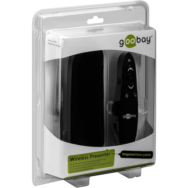 Goobay Wireless Presenter WP 02 »zur professionellen Präsentationssteuerung«