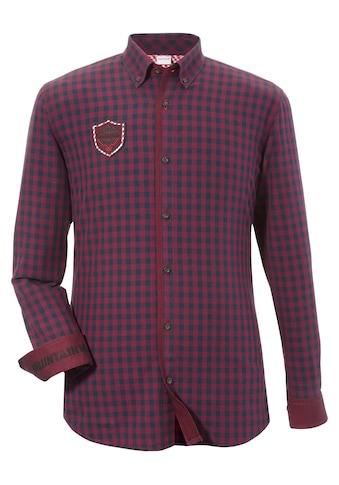 Andreas Gabalier Kollektion Trachtenhemd mit rockiger Applikation kaufen