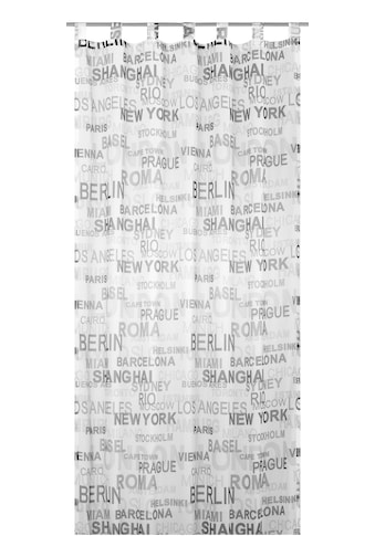 Vorhang, »City«, ELBERSDRUCKE, Schlaufen 1 Stück kaufen