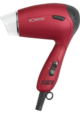 BOMANN Reisehaartrockner »HTD 8005 CB«, 1300 W, mit Klappgriff kaufen