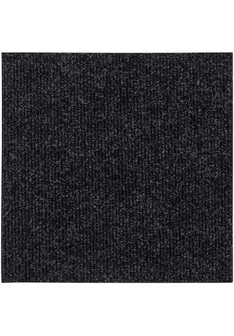Andiamo Teppichfliese »Rippe Nadelfilz«, quadratisch, 4 mm Höhe, 16 Stück (4 m²),... kaufen