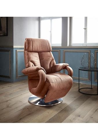 Places of Style TV-Sessel »Gisborne«, in Größe M, wahlweise mit Motor und Aufstehhilfe kaufen