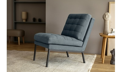 LOVI Sessel »Chilli«, Fußgestell schwarz, leichte, schwebende Optik in klaren Formen... kaufen