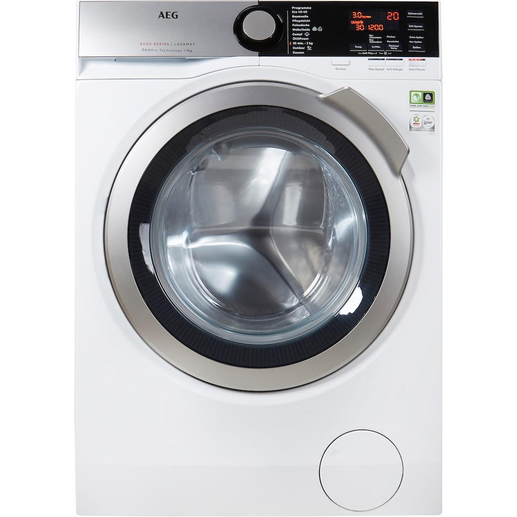 AEG Waschmaschine, L8FE77495, 9 kg, 1400 U/min