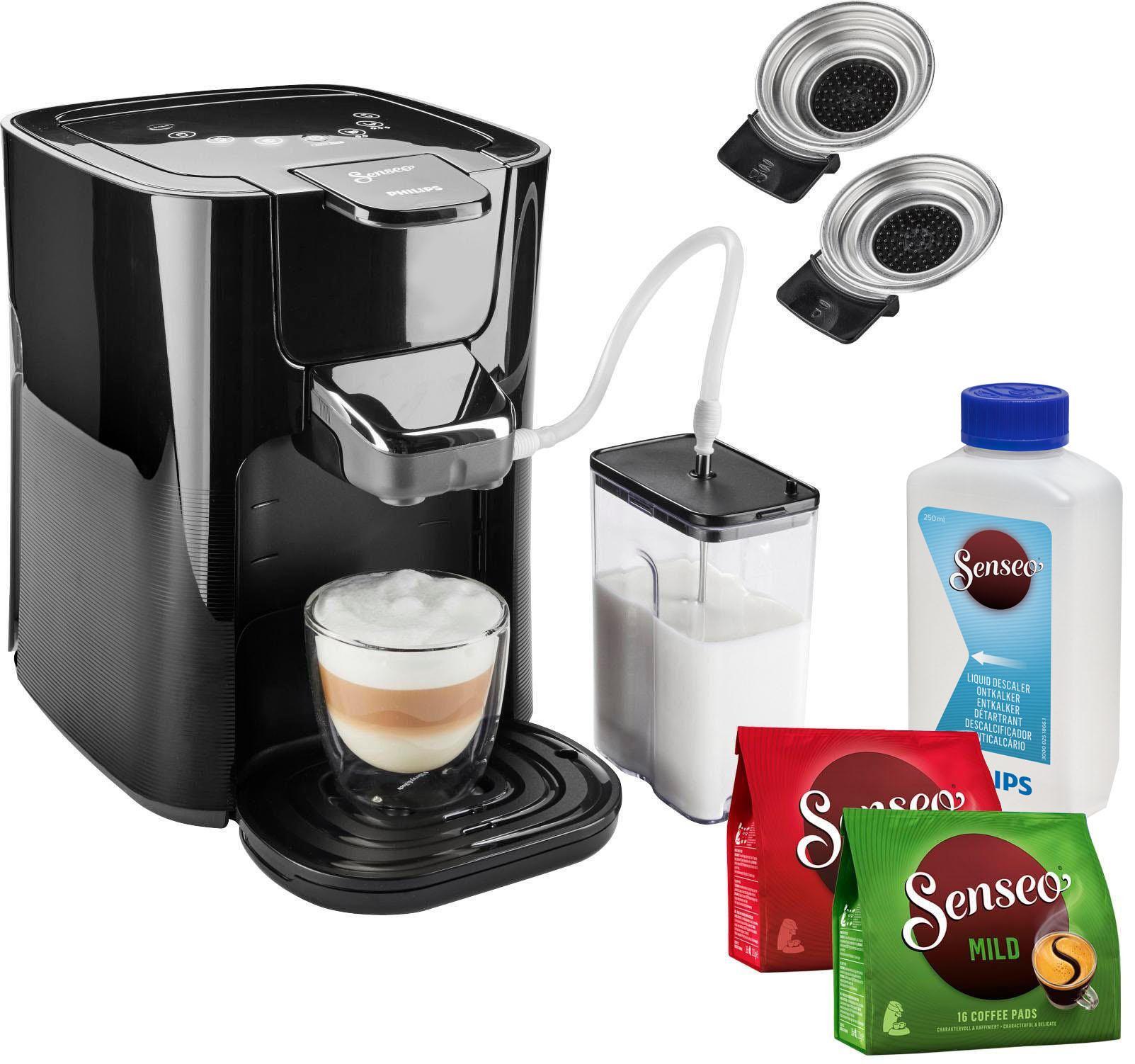 senseo kaffeepadmaschine hd6570 60 latte duo auf rechnung
