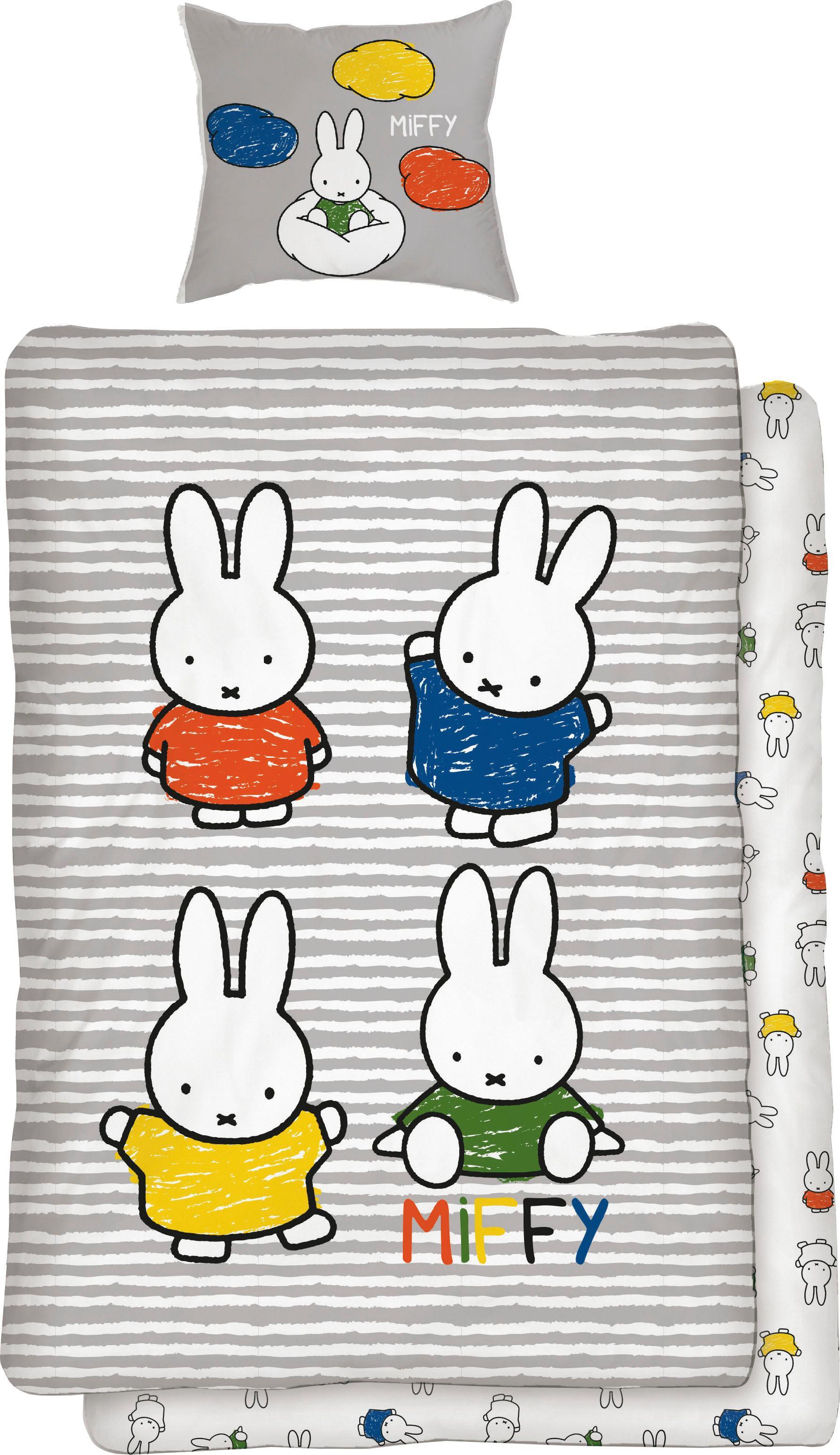 Kinderbettwäsche »Family Time« | Kinderzimmer > Textilien für Kinder > Kinderbettwäsche | Bunt | Baumwolle | QUELLE