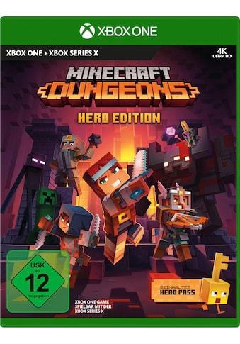 Xbox One Spiel »Minecraft Dungeons Hero Edition«, Xbox One kaufen