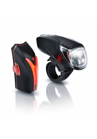 Aplic LED Akku Fahrradlbeleuchtung mit Front & Rücklicht kaufen