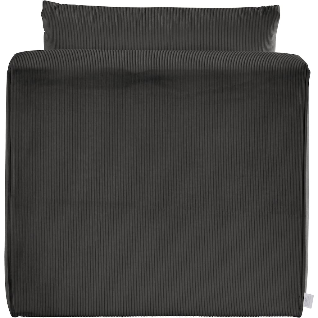 Guido Maria Kretschmer Home&Living Sessel »Comfine«, Modul-Sessel zur indiviuellen Zusammenstellung eines perfekten Sofas, in 3 Bezugsvarianten und vielen Farben