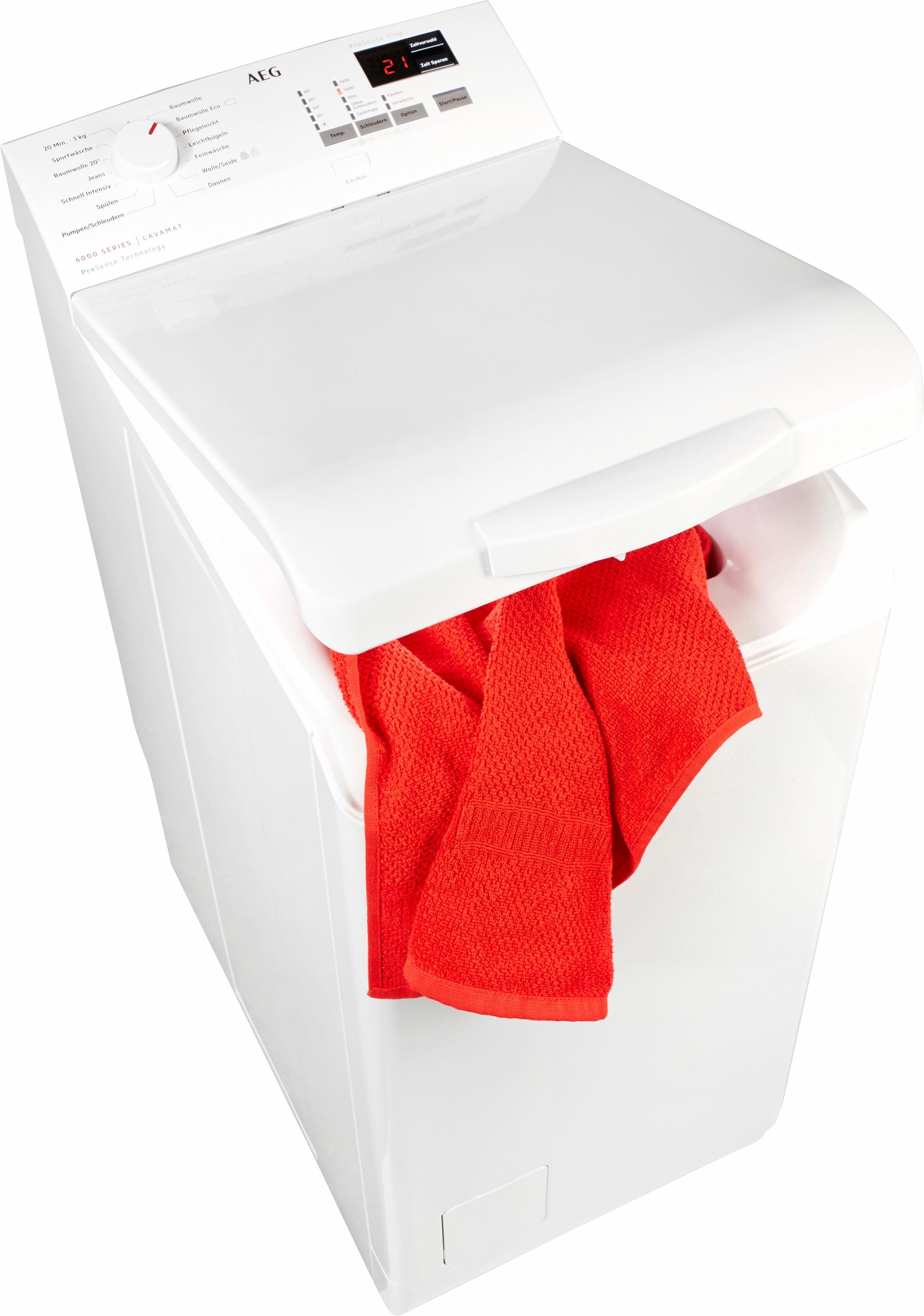 AEG Waschmaschine Toplader 6000 L6TB41270 | Bad > Waschmaschinen und Trockner > Toplader | AEG ELECTROLUX