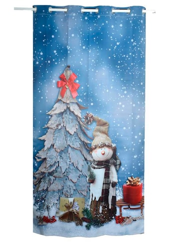 Verdunkelungsvorhang, »SNOWMAN«, Lüttenhütt, Ösen 1 Stück kaufen