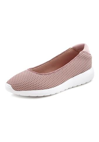LASCANA Ballerina, Sneaker Slip-In in superleichter Mesh-Optik kaufen