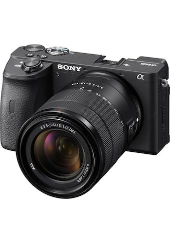 Sony Systemkamera »Alpha 6600 + SEL18135«, SEL18135, 24,2 MP, NFC-Bluetooth-WLAN (Wi-Fi) kaufen
