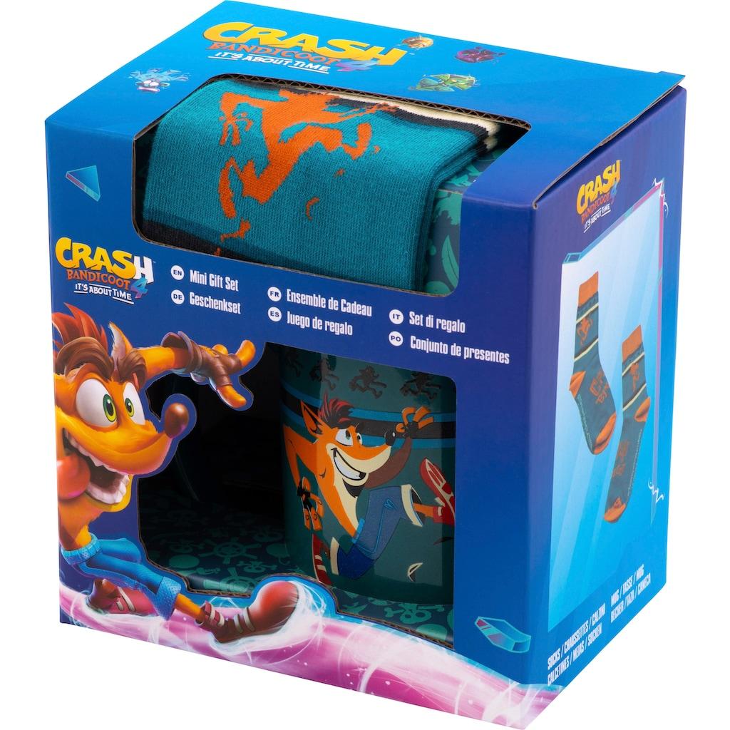 Activision Tasse »Geschenkset Crash Bandicoot«, (Set)