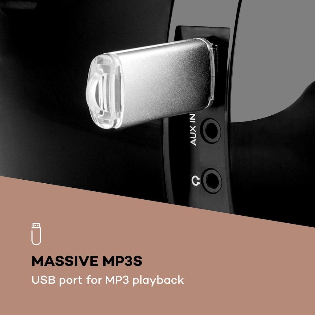 Auna Boombox Internetradio DAB/DAB+ UKW CD-Player
