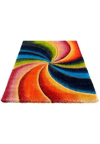 Hochflor - Teppich, »Baldo«, my home, rechteckig, Höhe 43 mm, maschinell gewebt kaufen