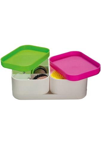 SEE∙MANN∙GARN Aufbewahrungsbox »Barbara«, (Komplett-Set, 3 St.), 3-tlg. Set, multicolor kaufen
