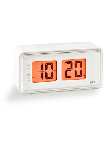 ADE Funkwecker »CK 1720«, Wecker mit LCD-Display im Retro Klappzahlen-Design kaufen