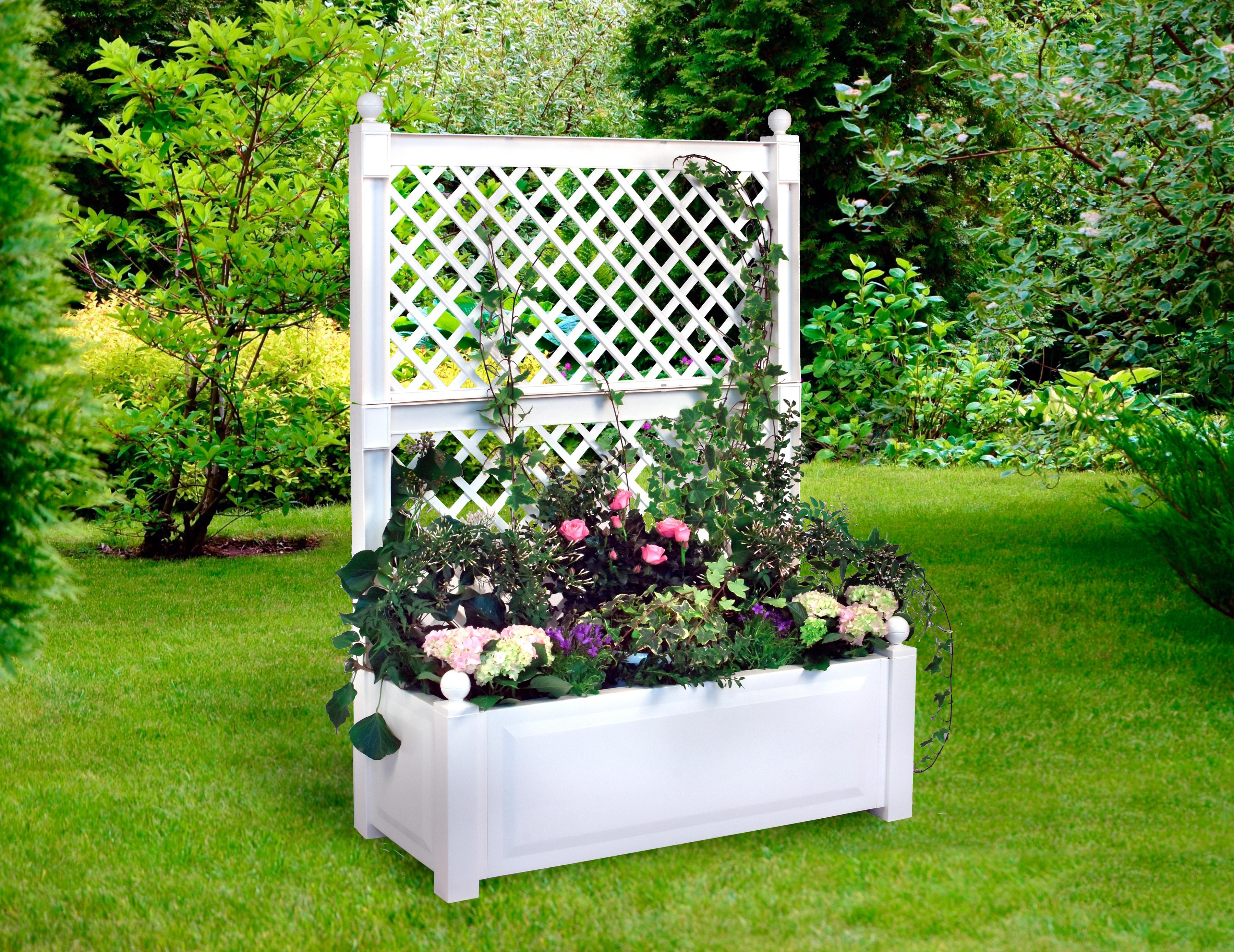 KHW Spalier mit Pflanzkasten, BxTxH: 100x43x140 cm   Garten > Pflanzen   KHW