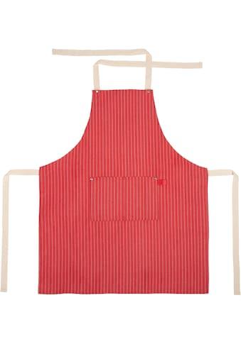 stuco Kochschürze »gestreift«, (1 tlg.), mit Brusttasche kaufen