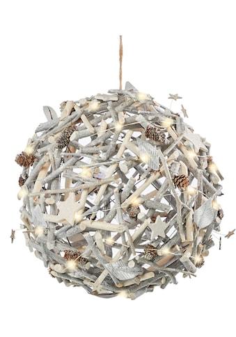 LED Dekoobjekt »Weihnachtsball«, Warmweiß, Ø 40 cm kaufen