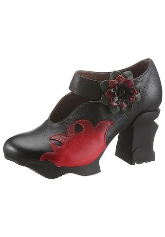 LAURA VITA Spangenpumps »Arcmanceo«, mit kontrastfarbiger Blüte kaufen