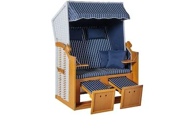 KONIFERA Strandkorb »Amrum«, BxTxH: 115x150x72 cm, 2-Sitzer kaufen