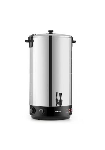 Klarstein KonfiStar 60 Einkochautomat Getränkespender 60L 110°C »Food preser 60L« kaufen