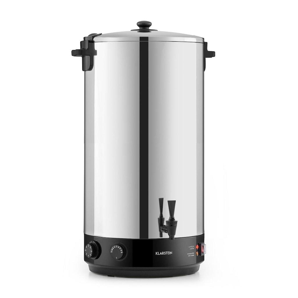 Klarstein KonfiStar 60 Einkochautomat Getränkespender 60L 110°C »Food preser 60L«