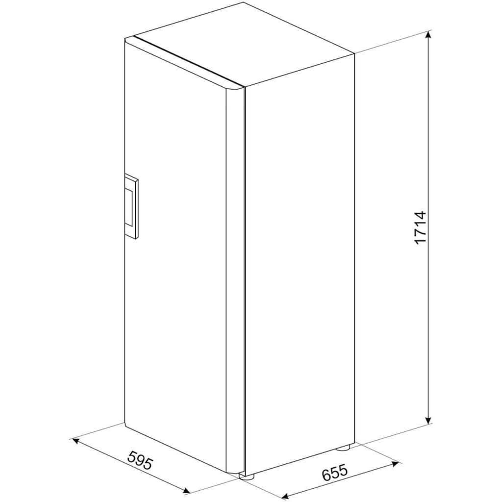 Smeg Gefrierschrank »CV290NDF«, 171,4 cm hoch, 59,5 cm breit