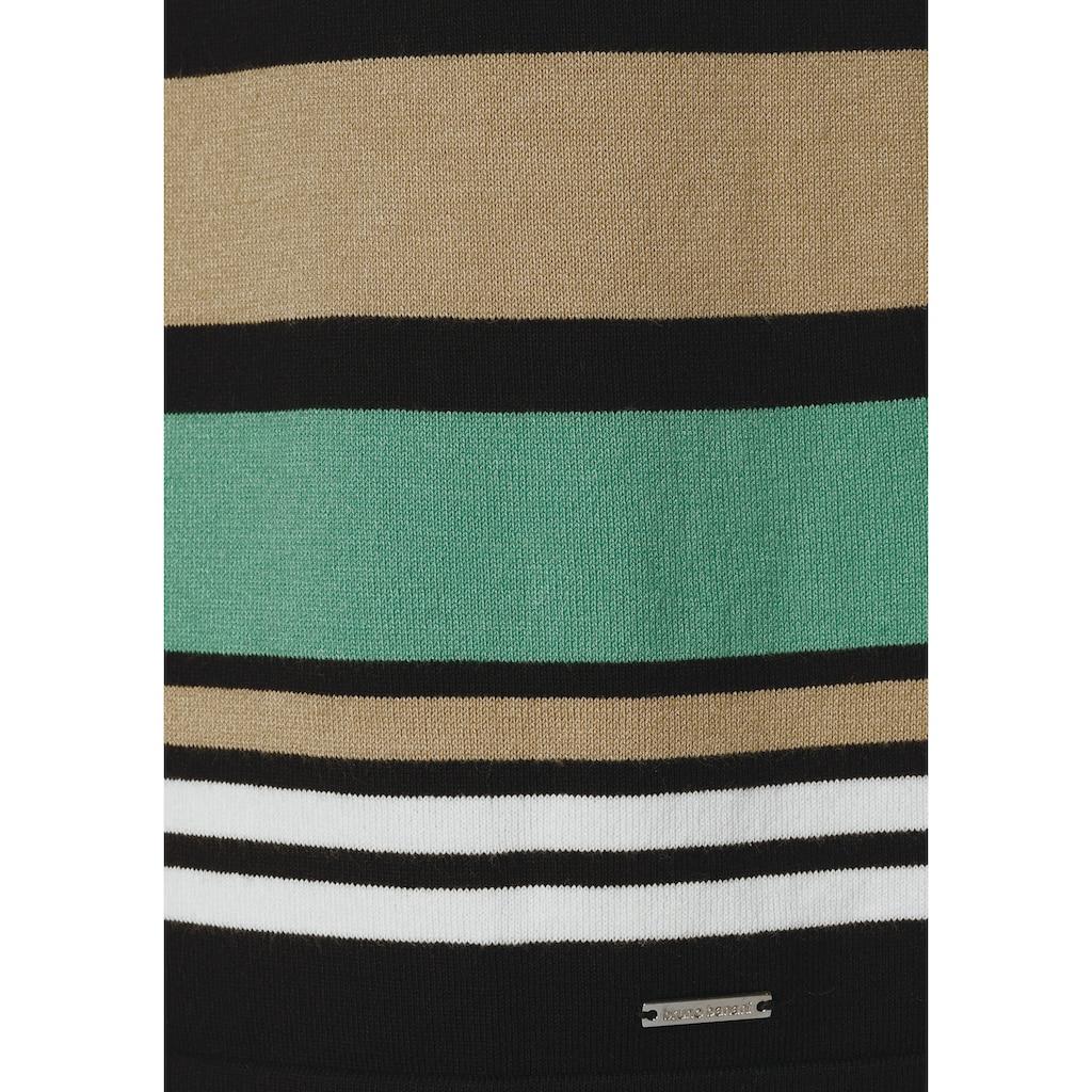 Bruno Banani Strickkleid, mit Streifen Design