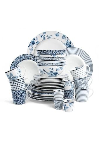LAURA ASHLEY BLUEPRINT COLLECTABLES Frühstücks-Set »Mix Designs Floris, Candy Stripe,... kaufen