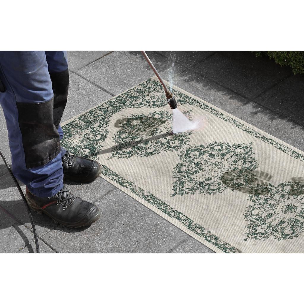 bougari Läufer »Cofete«, rechteckig, 5 mm Höhe, Wendeteppich, In- und Outdoor geeignet
