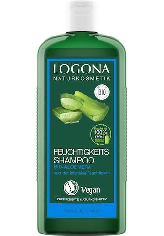 LOGONA Haarshampoo »Logona Feuchtigkeits-Shampoo Bio-Aloe Vera« kaufen
