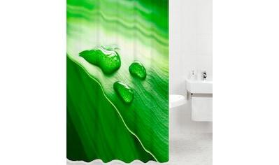 Sanilo Duschvorhang »Green Leaf«, Breite 180 cm, Höhe 180 cm kaufen