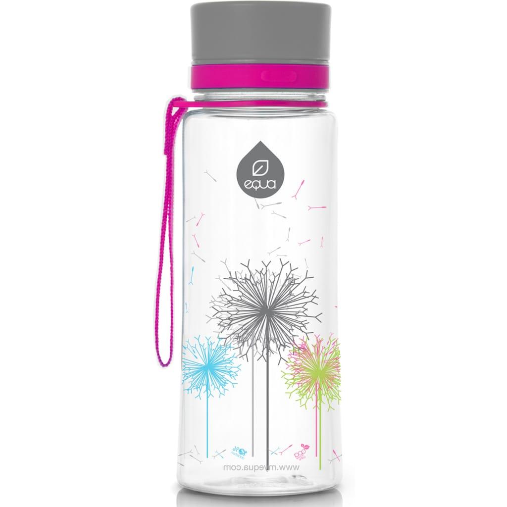 equa Trinkflasche »Kids Dandelion«, Tritankunststoff, Inhalt 600 ml