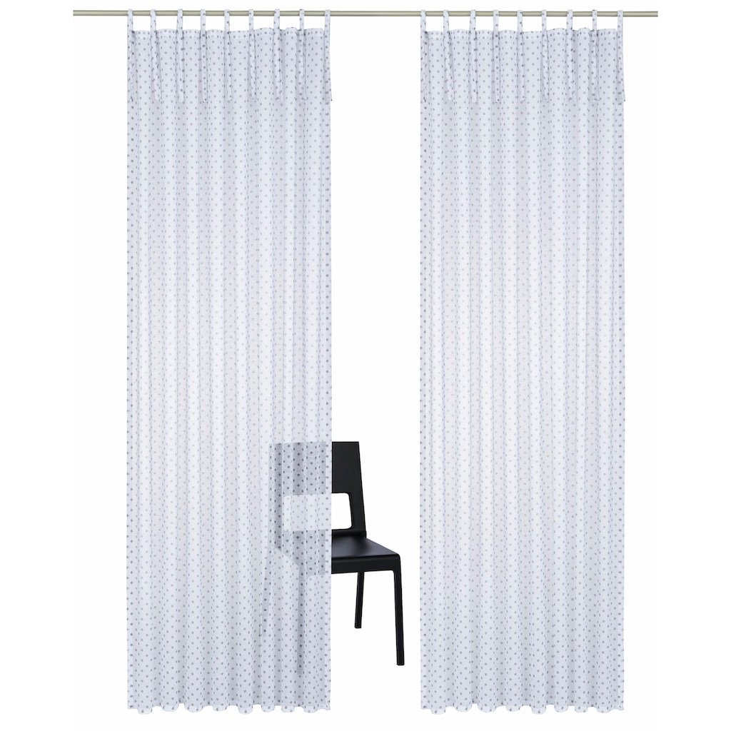 Home affaire Gardine »Hannah«, Vorhang, Fertiggardine, transparent